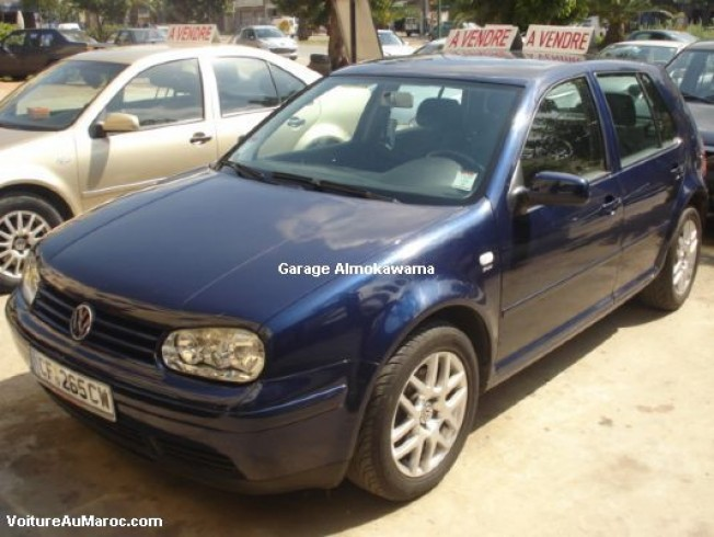 volkswagen golf 4 tdi 130 cv 2001 diesel 12175 occasion casablanca maroc. Black Bedroom Furniture Sets. Home Design Ideas