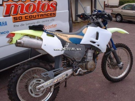 دراجة نارية في المغرب هوسكيفارنا تي 410 يندورو 410 - 123187