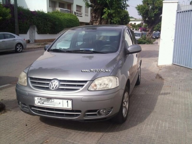 volkswagen fox 2006 essence 32146 occasion rabat maroc. Black Bedroom Furniture Sets. Home Design Ideas