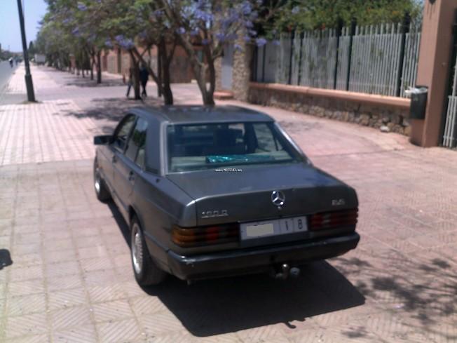 mercedes 190 2 5 1986 diesel 21151 occasion marrakech maroc. Black Bedroom Furniture Sets. Home Design Ideas