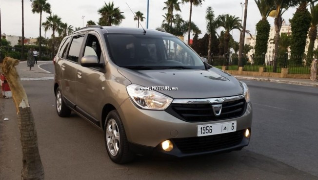 dacia lodgy complet 2013 diesel 108992 occasion casablanca maroc. Black Bedroom Furniture Sets. Home Design Ideas