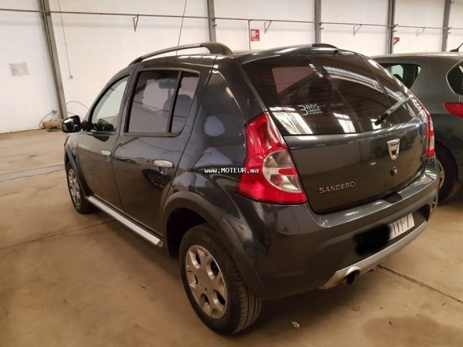 dacia sandero stepway 2011 diesel 106989 occasion casablanca maroc. Black Bedroom Furniture Sets. Home Design Ideas
