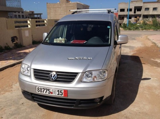 volkswagen caddy 1 9 tdi life family 2008 diesel 42609 occasion casablanca maroc. Black Bedroom Furniture Sets. Home Design Ideas