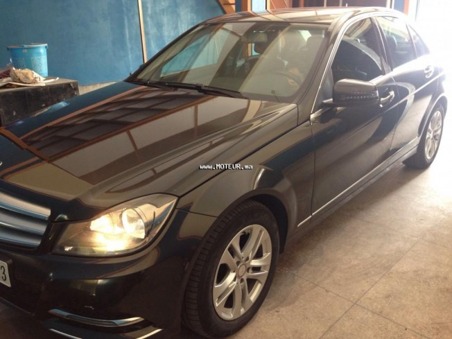 mercedes classe c c220 cdi 2013 diesel 108469 occasion casablanca maroc. Black Bedroom Furniture Sets. Home Design Ideas