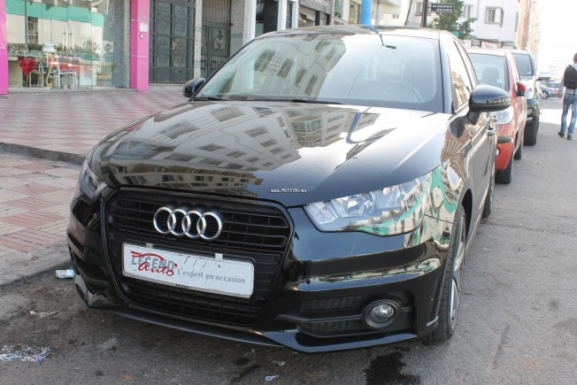 audi a1 s line 2014 diesel 116297 vendre casablanca. Black Bedroom Furniture Sets. Home Design Ideas