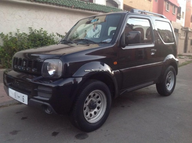 suzuki jimny jeep 2008 essence 100334 occasion casablanca maroc. Black Bedroom Furniture Sets. Home Design Ideas