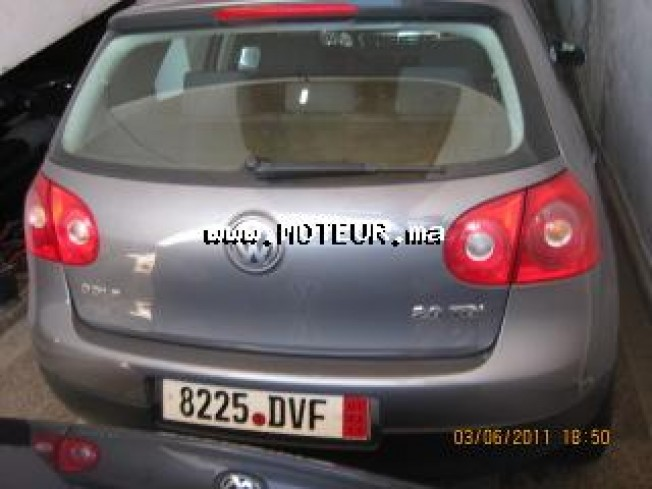 volkswagen golf 5 2 0 tdi 2007 diesel 21551 occasion meknes maroc. Black Bedroom Furniture Sets. Home Design Ideas