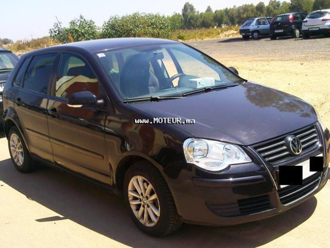 volkswagen polo tdi 1 4 2007 diesel 21262 occasion casablanca maroc. Black Bedroom Furniture Sets. Home Design Ideas