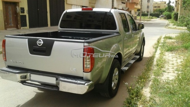 nissan navara 2009 diesel 156536 occasion rabat maroc. Black Bedroom Furniture Sets. Home Design Ideas