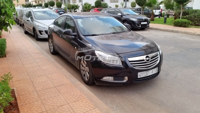 opel insignia 2010 diesel 137051 occasion casablanca maroc. Black Bedroom Furniture Sets. Home Design Ideas