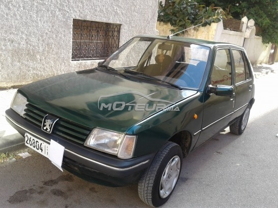 peugeot 205 junior 1999 essence 163559 occasion fes maroc. Black Bedroom Furniture Sets. Home Design Ideas