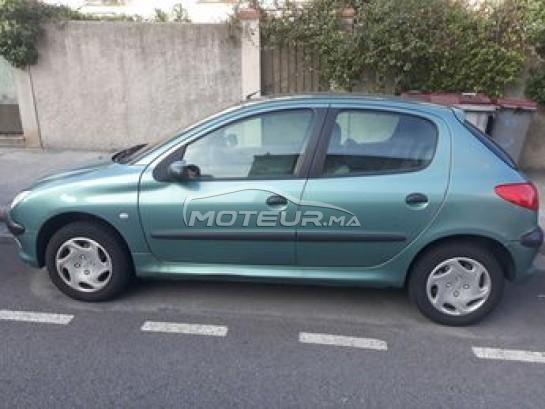 سيارة في المغرب PEUGEOT 206 - 268212