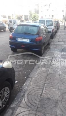 سيارة في المغرب PEUGEOT 206 - 260354
