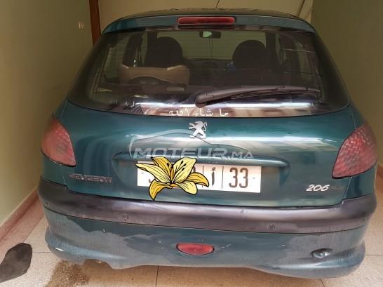 سيارة في المغرب PEUGEOT 206 - 248283