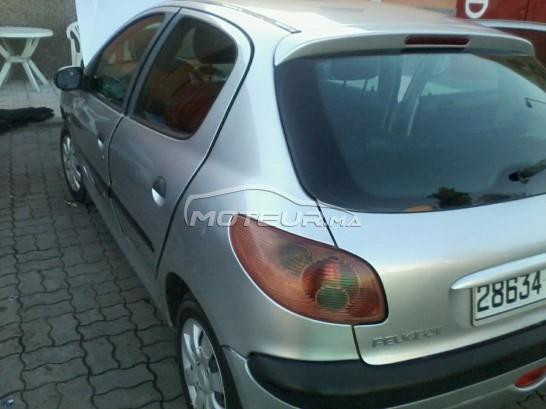 سيارة في المغرب PEUGEOT 206 - 263670