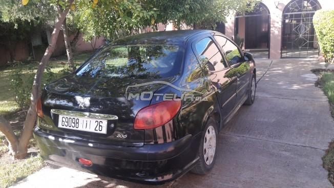 Voiture au Maroc PEUGEOT 206 Sedan - 142806