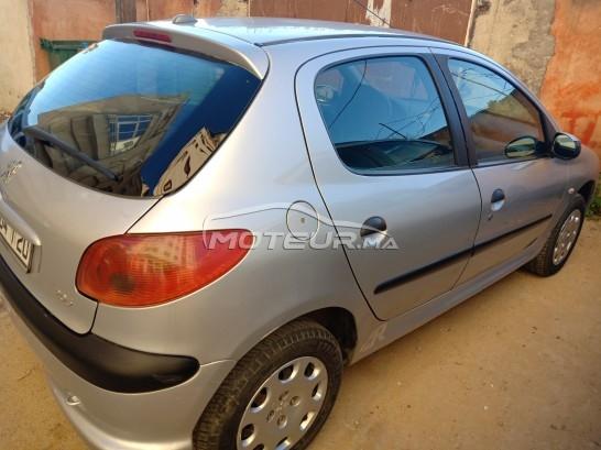 سيارة في المغرب PEUGEOT 206 - 253748
