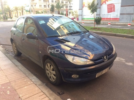سيارة في المغرب بيجو 206 - 146690
