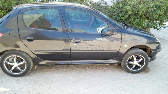 سيارة في المغرب بيجو 206 - 217430