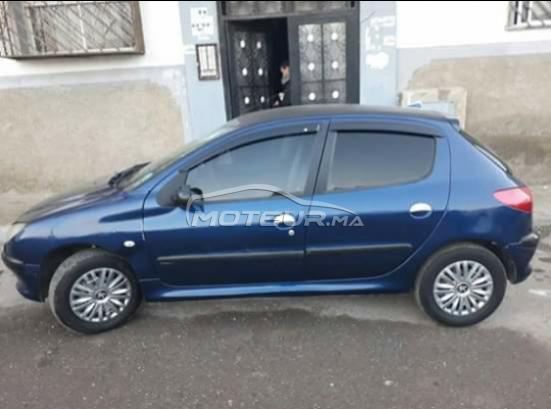 سيارة في المغرب PEUGEOT 206 - 260291
