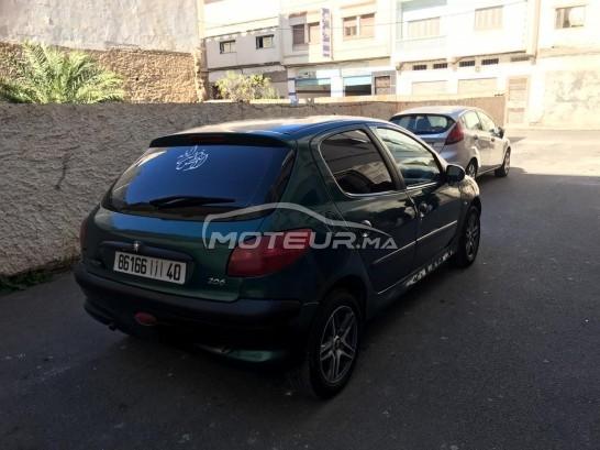 سيارة في المغرب PEUGEOT 206 - 257280
