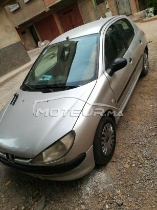 Voiture Peugeot 206 2000 à marrakech  Essence  - 8 chevaux