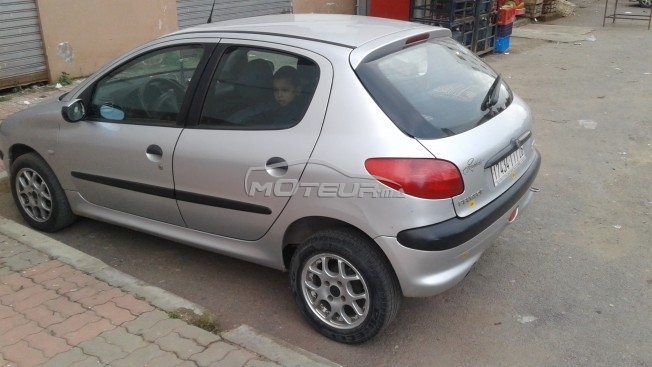 peugeot 206 2002 diesel 142130 occasion casablanca maroc. Black Bedroom Furniture Sets. Home Design Ideas