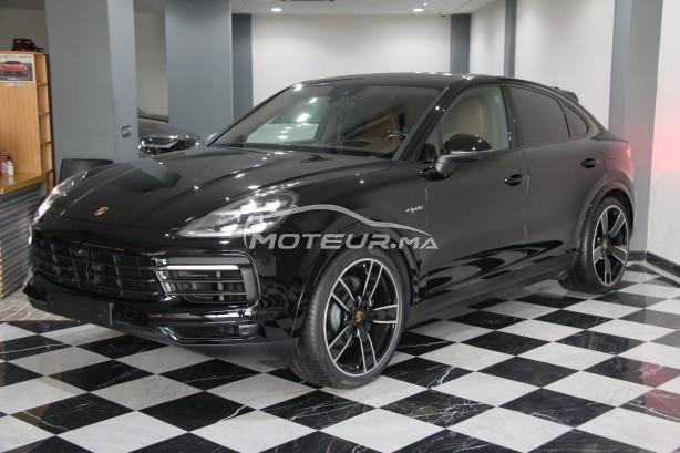 PORSCHE Cayenne E-hybrid coupé (noir/marron) مستعملة
