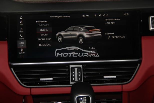 PORSCHE Cayenne E-hybrid coupé (noir/rouge) occasion 968445