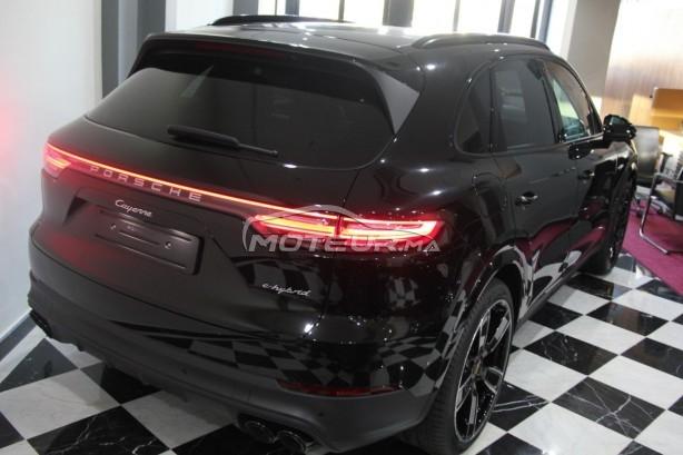 PORSCHE Cayenne Hybride noir-intérieur rouge occasion 754331