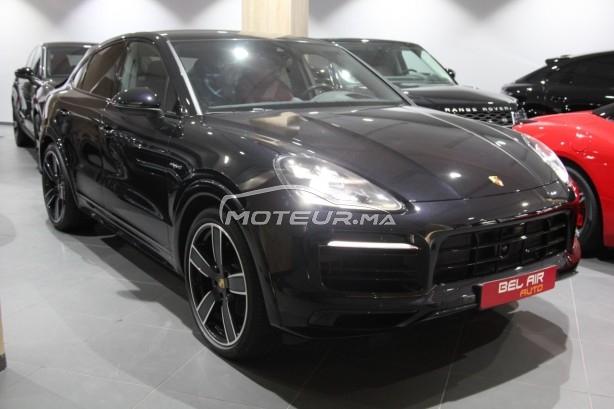 PORSCHE Cayenne Hybrid coupé pack sport design noir rouge occasion