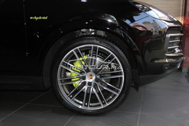 PORSCHE Cayenne E-hybrid (noir/rouge) occasion 862728