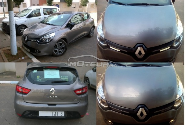 renault clio 1 5 dci 2016 diesel 154417 occasion casablanca maroc. Black Bedroom Furniture Sets. Home Design Ideas