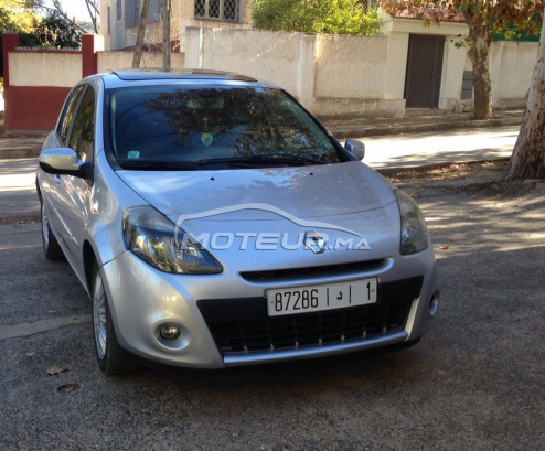 Renault Clio 3 Gt Line 2009 Diesel 229607 Occasion A Fes Maroc