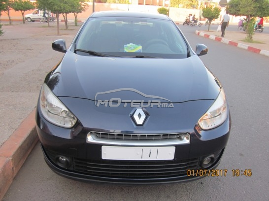 renault fluence 2012 diesel 166034 occasion marrakech maroc. Black Bedroom Furniture Sets. Home Design Ideas