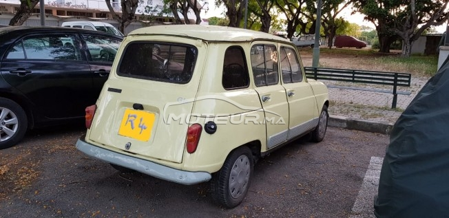 Renault R4 1984 Essence 227453 Occasion 224 Rabat Maroc