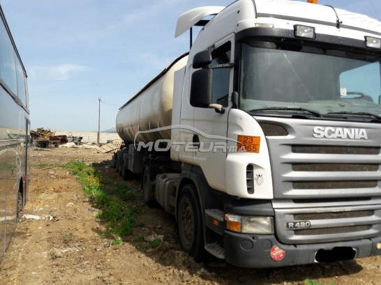 شاحنة في المغرب سكانيا ر - 156587