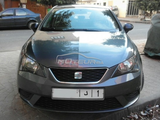 seat ibiza 2014 diesel 134180 occasion rabat maroc. Black Bedroom Furniture Sets. Home Design Ideas