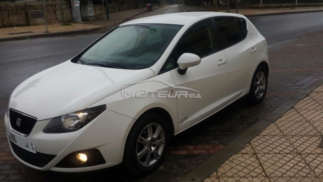 seat ibiza mustapha 2012 diesel 134730 occasion rabat maroc. Black Bedroom Furniture Sets. Home Design Ideas