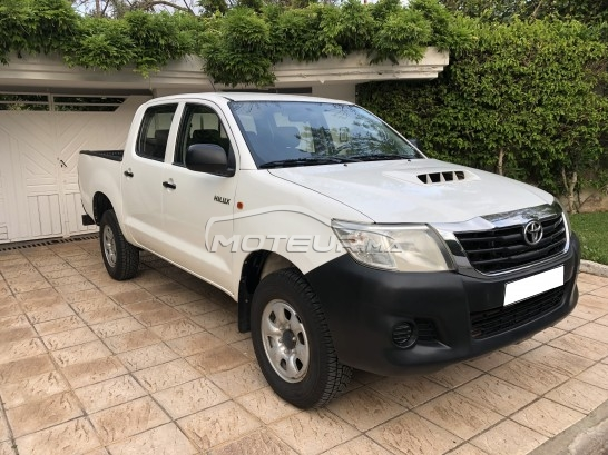 TOYOTA Hilux 4*4 double cabines مستعملة
