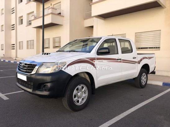 TOYOTA Hilux 4*4 double cabines occasion 824091