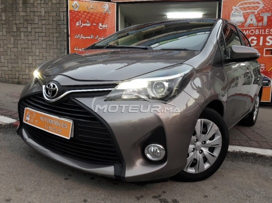 TOYOTA Yaris 1.4 d-4d silver+ occasion
