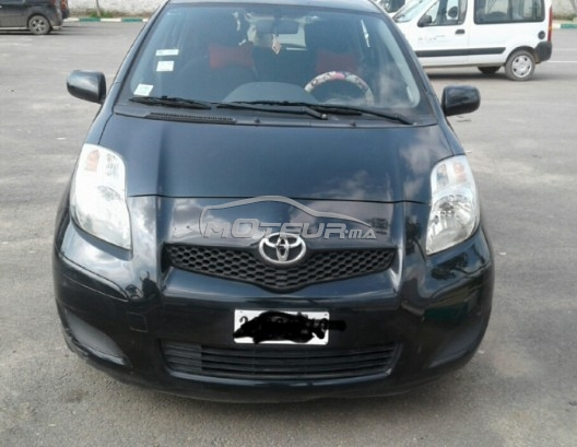 toyota yaris 2010 essence 148680 occasion casablanca maroc. Black Bedroom Furniture Sets. Home Design Ideas