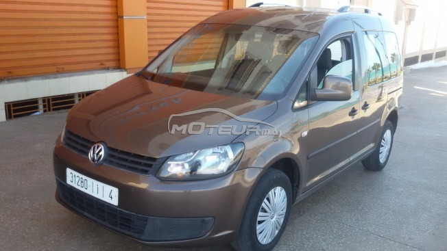 volkswagen caddy confortline 2013 diesel 153693 occasion rabat maroc. Black Bedroom Furniture Sets. Home Design Ideas