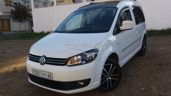 volkswagen caddy edition 30 2014 diesel 198836 occasion tanger maroc. Black Bedroom Furniture Sets. Home Design Ideas