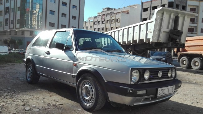 volkswagen golf 2 1986 diesel 143845 occasion tanger maroc. Black Bedroom Furniture Sets. Home Design Ideas
