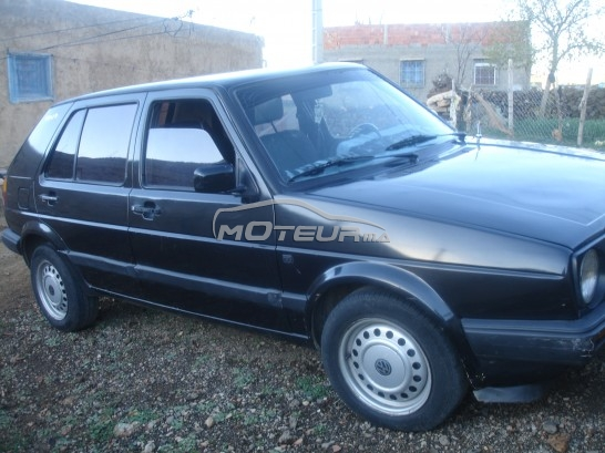 volkswagen golf 2 gl60 1991 diesel 162023 occasion azrou maroc. Black Bedroom Furniture Sets. Home Design Ideas