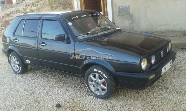 volkswagen golf 2 1986 diesel 192834 occasion al hoceima maroc. Black Bedroom Furniture Sets. Home Design Ideas