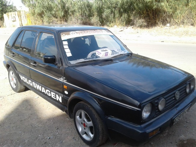 volkswagen golf 2 1985 diesel 119036 occasion fes maroc. Black Bedroom Furniture Sets. Home Design Ideas