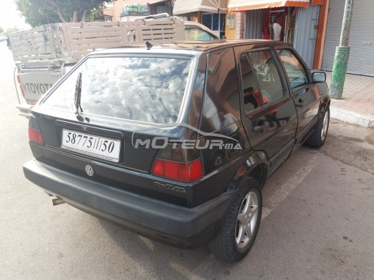 volkswagen golf 2 1991 diesel 158254 occasion agadir maroc. Black Bedroom Furniture Sets. Home Design Ideas